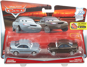 Disney Cars Disney Cars Die-Cast Heather Drifeng & Michelle Motoretta DHL18