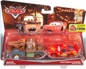 Disney Cars Disney Cars Die-Cast Hook ohne Reifen & Lightning McQueen ohne Reifen DHL20