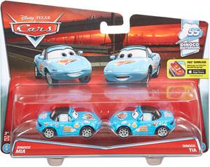 Disney Cars Disney Cars Die-Cast Dinoco Mia & Dinoco Tia DKV58