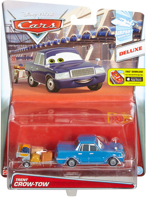 Disney Junior Disney Cars Deluxe Fahrzeug Toyota Century w/ Luggage Trailer CJN12