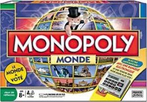 Monopoly World, nur französisch, deutsche Version siehe Art. 101 3913 1612101