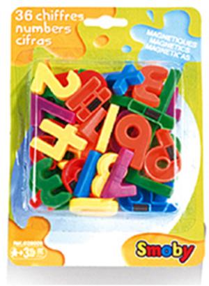 Zahlen magnetisch 36 Stück, Kunststoff ab 3 Jahren 44028009