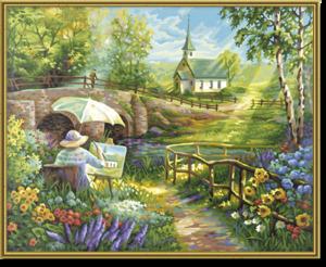 SCHIPPER Arts & Crafts Malen nach Zahlen - Der Sommer