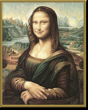 SCHIPPER Arts & Crafts Malen nach Zahlen - Mona Lisa 609130511
