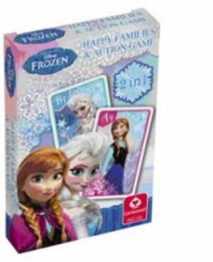 Cartamundi Kartenspiel Disney Frozen, d Quartett u. Action Game, 32 Karten à 62x100 mm 62534998