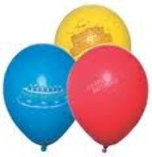 100 Ballone Happy Birthd., F/ass., U:88cm 76321587