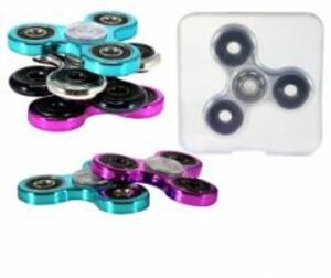 Hand Spinner Chrome Kreisel mit Kugellager für die Hand, Anti-Stress 88921966