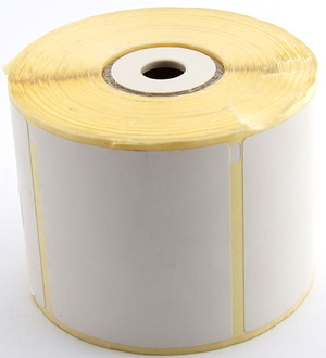 Thermo-Papier Selbstklebe-Etiketten<br />56 mm x 50.8 mm (BxH) permanent D90 9320