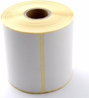 Thermo-Papier Selbstklebe-Etiketten<br />76 mm x 76.2 mm (BxH) permanent D90 9332