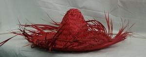 Sombrero ausgefranst aus Stroh uni/versch ca Gr. 59 AquaPlay;10930