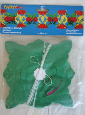 Girlande Blüten Diverse;10440