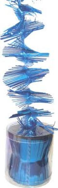 Diverse Spiral Girlande blau Diverse;11103