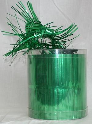Drehgirlande Cut PVC grün Diverse;11314