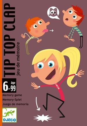 DJECO Kartenspiel Tip Top Clap (mult) DJ05120