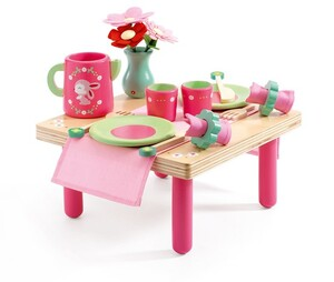 DJECO Rollenspiel Lili Rose's Lunch Set DJ06631