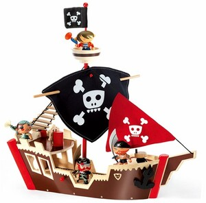 DJECO Arty Piraten Ze pirat boat ** DJ06830