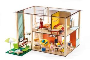 DJECO Puppenhaus Cubic (ohne Acc) DJ07801
