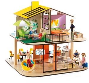 DJECO Puppenhaus Colour (ohne Acc) DJ07803