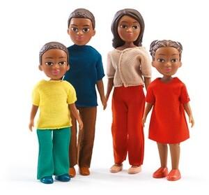 DJECO Puppenhaus Familie Milo&Lila DJ07813
