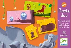 DJECO Puzzle Duo Mama und Kind DJ08157