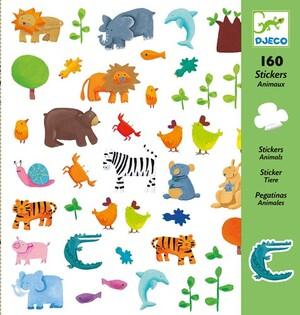 DJECO Sticker Tiere DJ08841