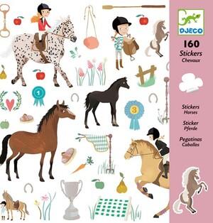 DJECO Sticker Pferde DJ08881