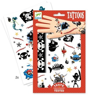 DJECO Tattoos Piraten DJ09584