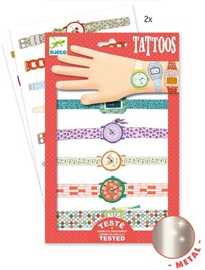 DJECO Tattoos Wendys Armbanduhren DJ09588