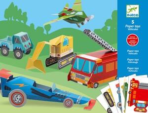 DJECO Paper Toys Trucks DJ09702