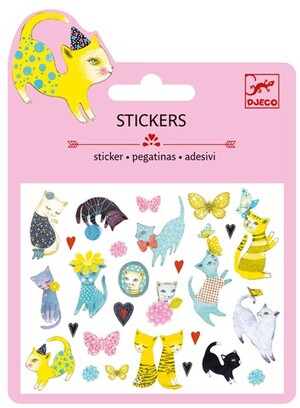 DJECO Mini Stickers Katzen DJ09775