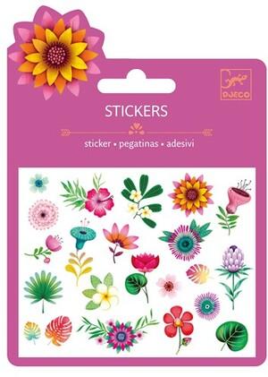 DJECO Mini Stickers Tropische Blumen DJ09780