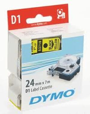 DYMO Nylonband D1, 19mm x 3.5m, Band: weiss S0718050