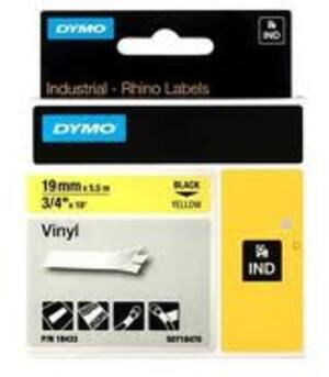 DYMO Rhino Schriftband, Vinyl, s / g S0718470