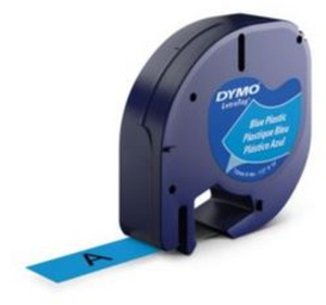 DYMO LetraTag Beschriftungsband, Plastik S0721700
