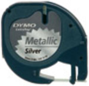 DYMO LetraTag Beschriftungsband, Metallic S0721750