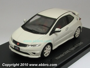 EBBRO Honda Civic Type Euro Japan Vers. White 9744309