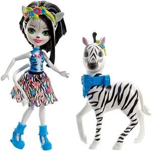 ENCHANTIMALS Themenpack Zelena Zebra FKY75