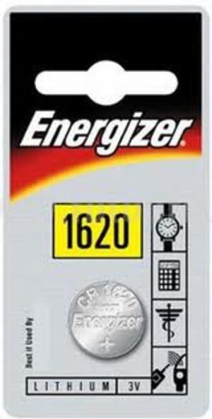 Energizer CR 1620 Lithium 3.0V FSB-1 632315