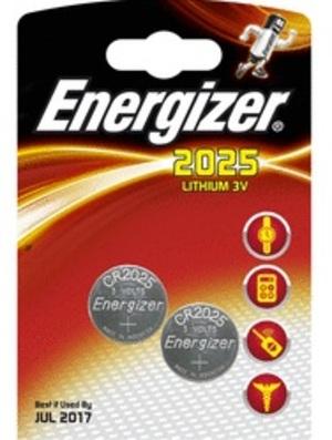 Energizer CR 2025 Lithium 3.0V FSB-2 626981