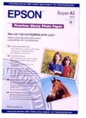 EPSON Premium Glossy Fotopapier/A3+/20 S041316