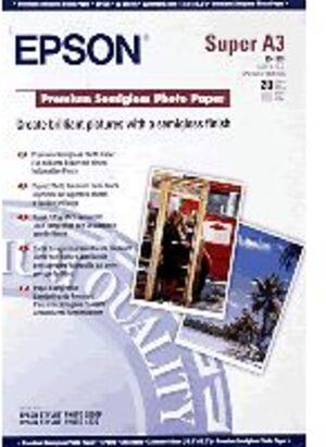 EPSON Premium Semigloss Photopapier/A3+/ S041328