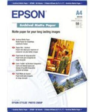 EPSON Archival Matte Papier/A4/50 Blatt/ S041342