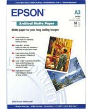 EPSON Archival Matte Papier/A3/50 Blatt/ S041344