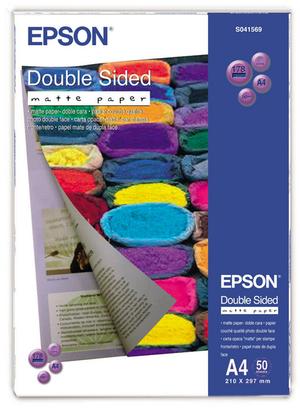 EPSON Doppelseitiges Matte Papier S041569