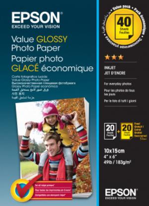 EPSON Wert Photo Paper 10x15cm C13S400044