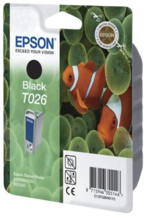 EPSON Ink Cartridge, black C13T02640120