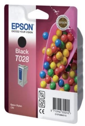 EPSON Ink Cartridge, black C13T02840120