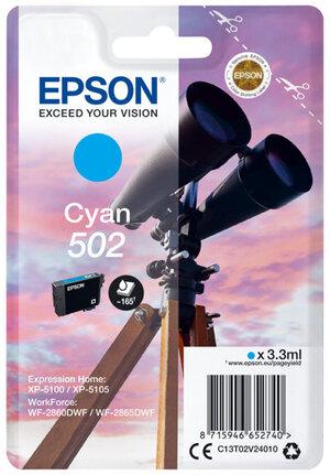 EPSON Singlepack Cyan 502 Ink C13T02V24010