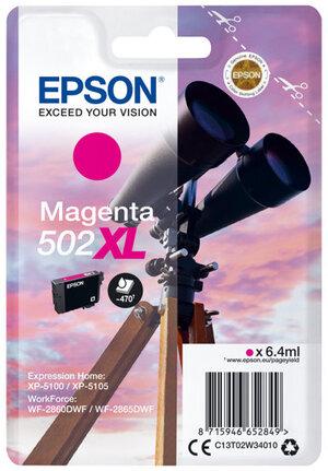 EPSON Singlepack Magenta 502XL Ink C13T02W34010
