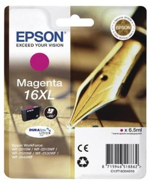EPSON Ink 16XL, magenta, xl C13T16334010